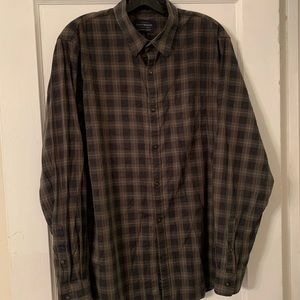 Lucky Brand Plaid Button Down Sz L